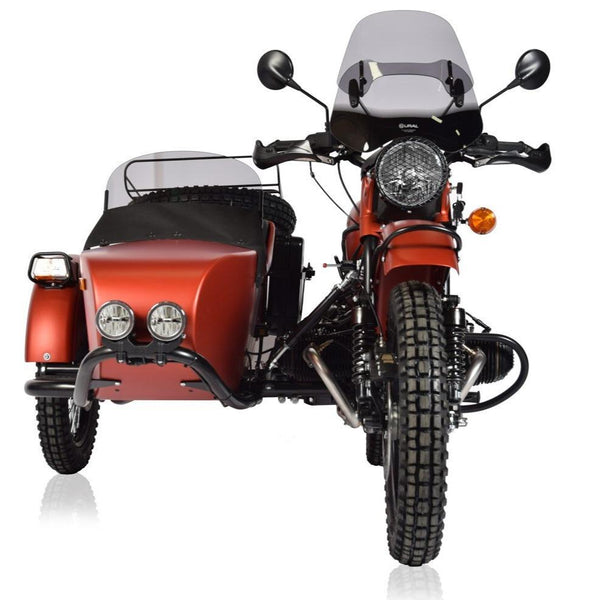 Ural Adjustable Touring Windscreen Smoke