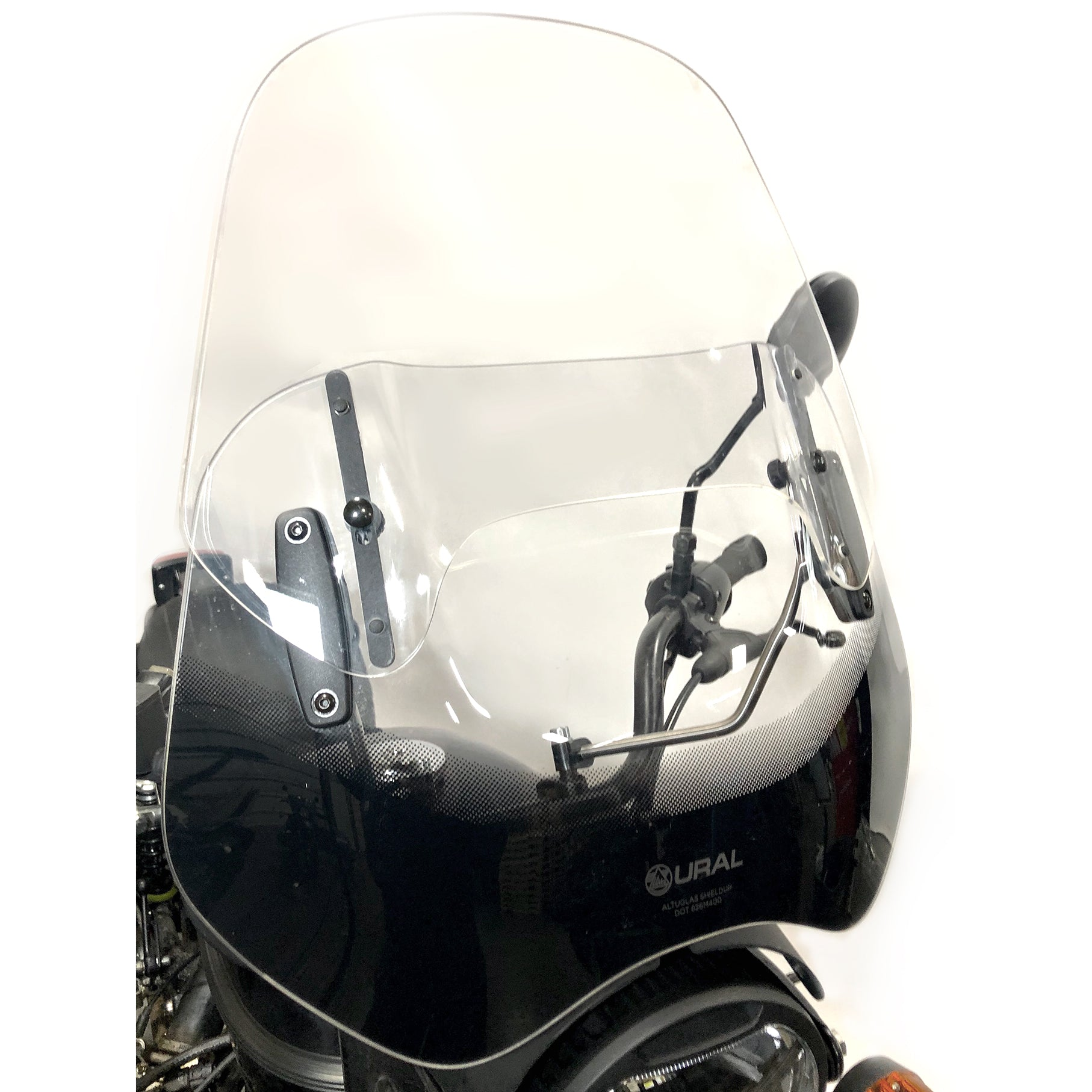 Ural Adjustable Touring Windscreen Clear