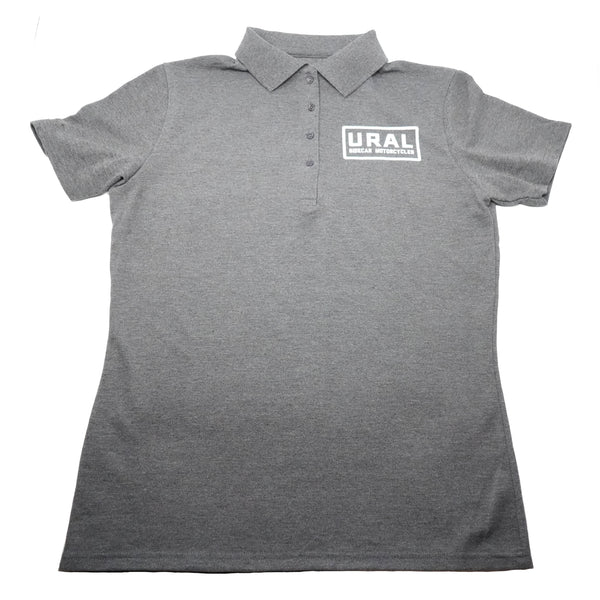 URAL Text Badge Polo Womens