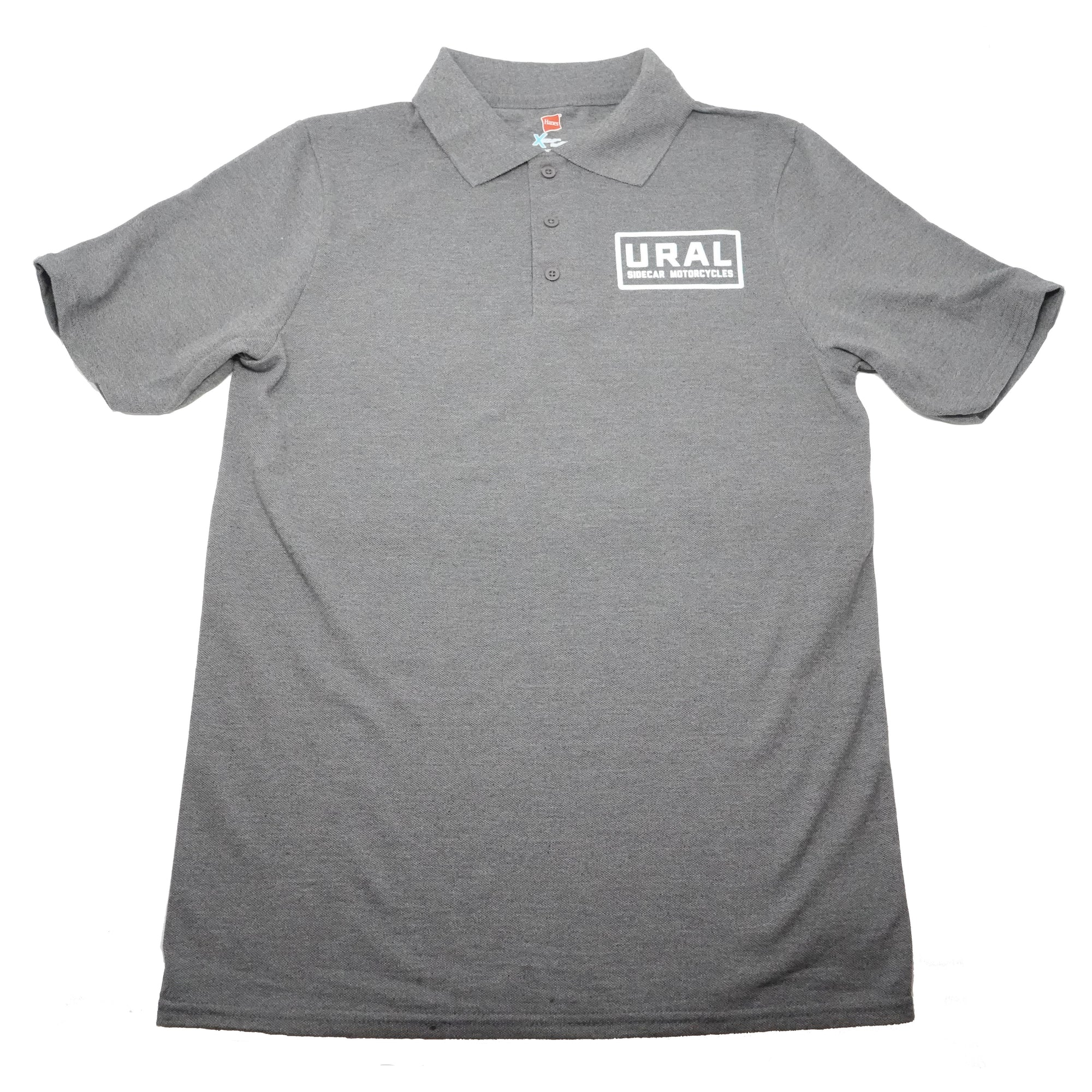 URAL Text Badge Polo Mens