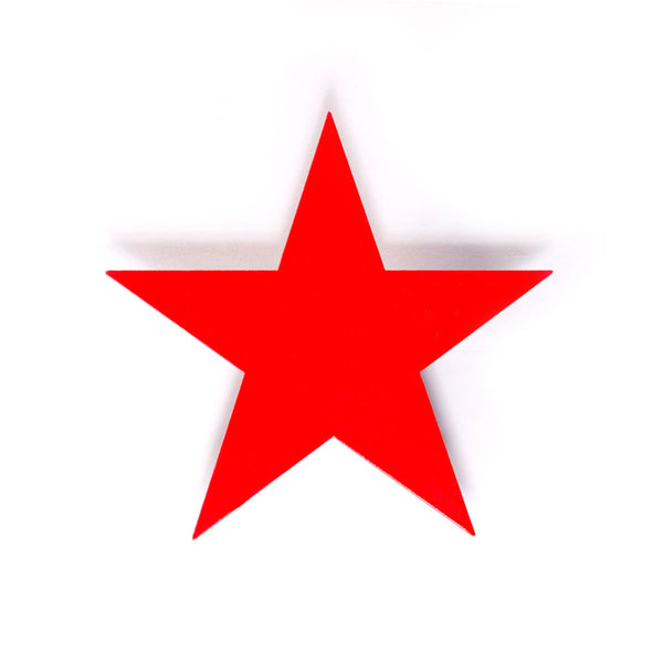 Large Star - Red