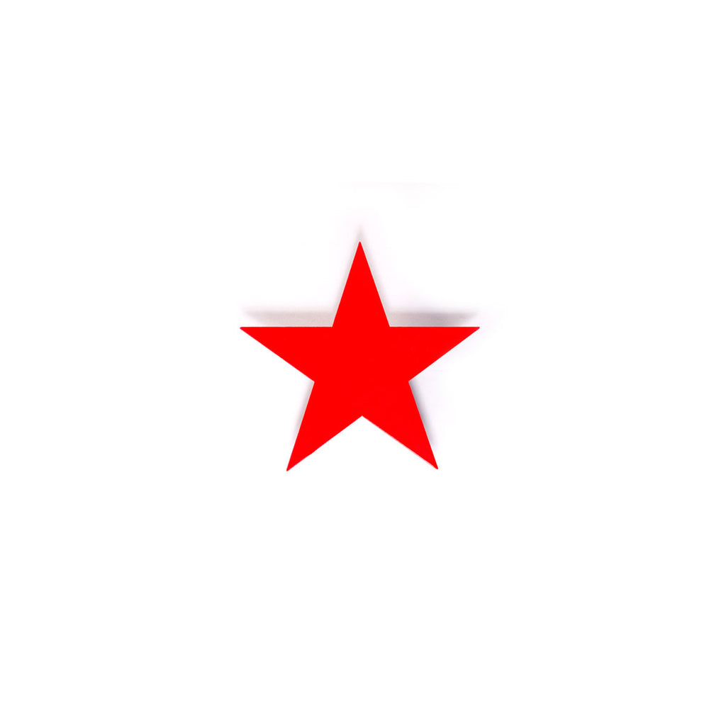 Small Star - Red