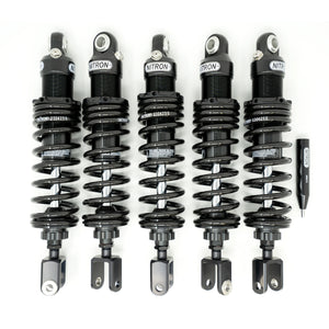 Nitron NTR-R1 Twin Shocks Black 5pc Set