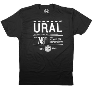 Infographic T-Shirt - Black