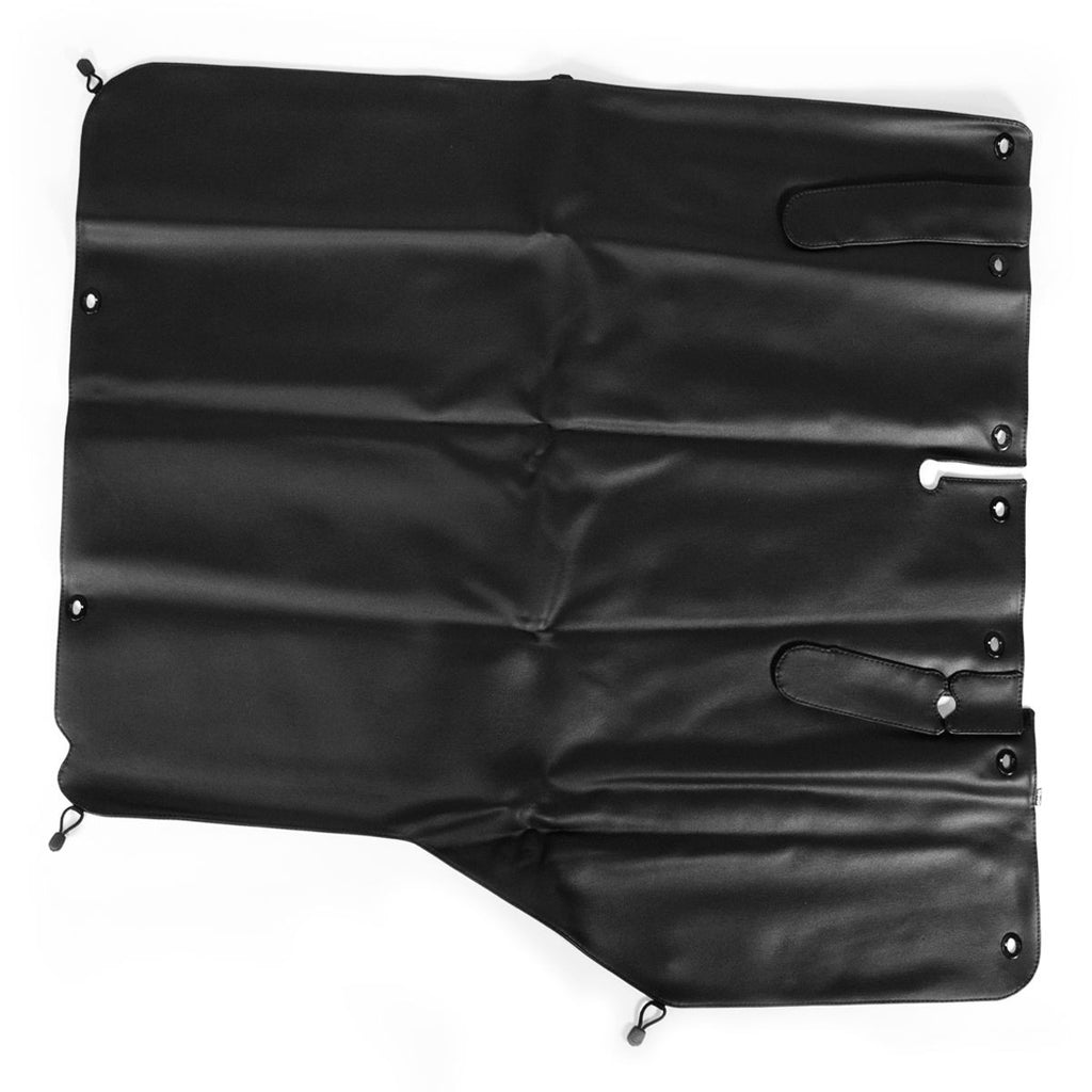 Black Vinyl Tonneau Cover