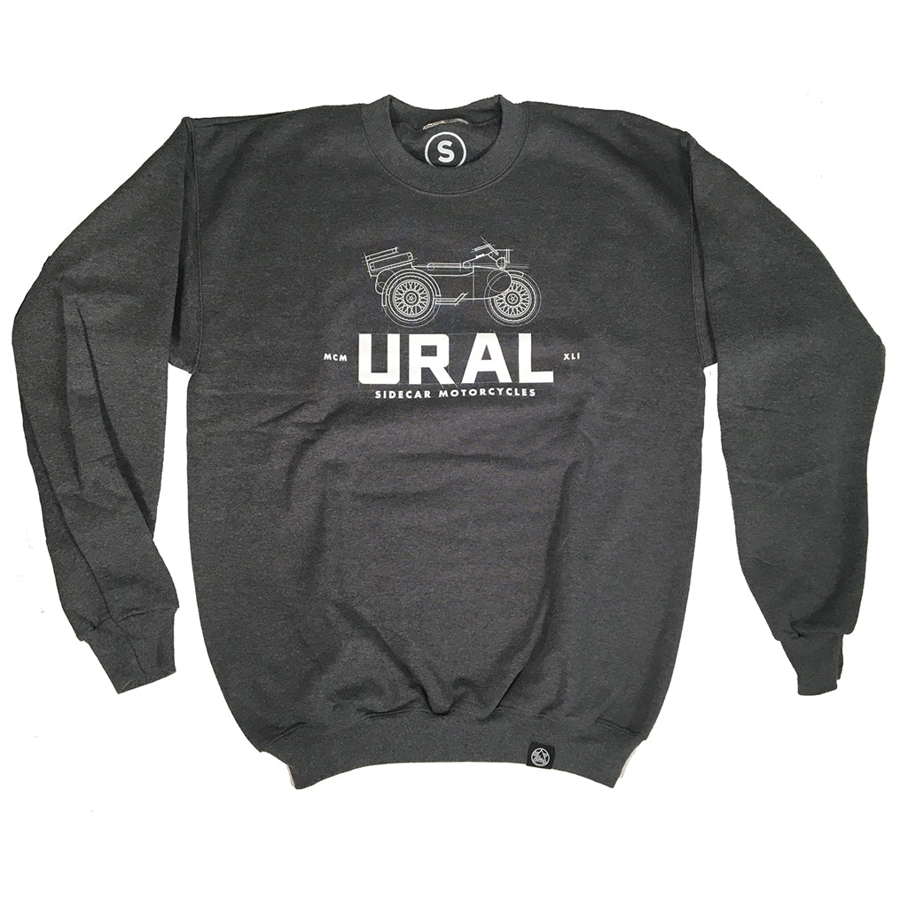 Engineered Sweater Dark Grey