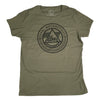 Ladies T-Shirt Logo OD Green
