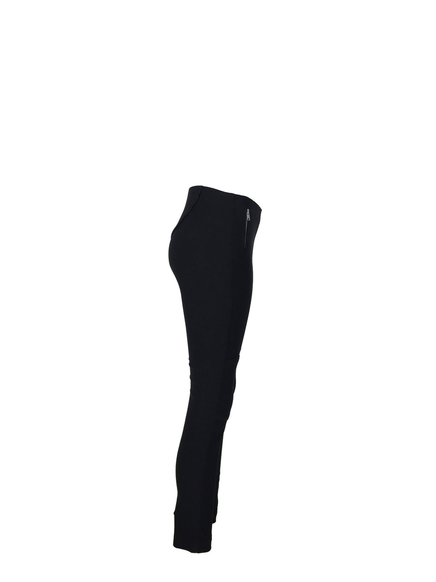 Slim Black Moto style pants by ATELIERI - ATELIERI  - 1