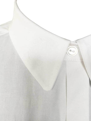 Perfect White stretch poplin blouse by Atelieri