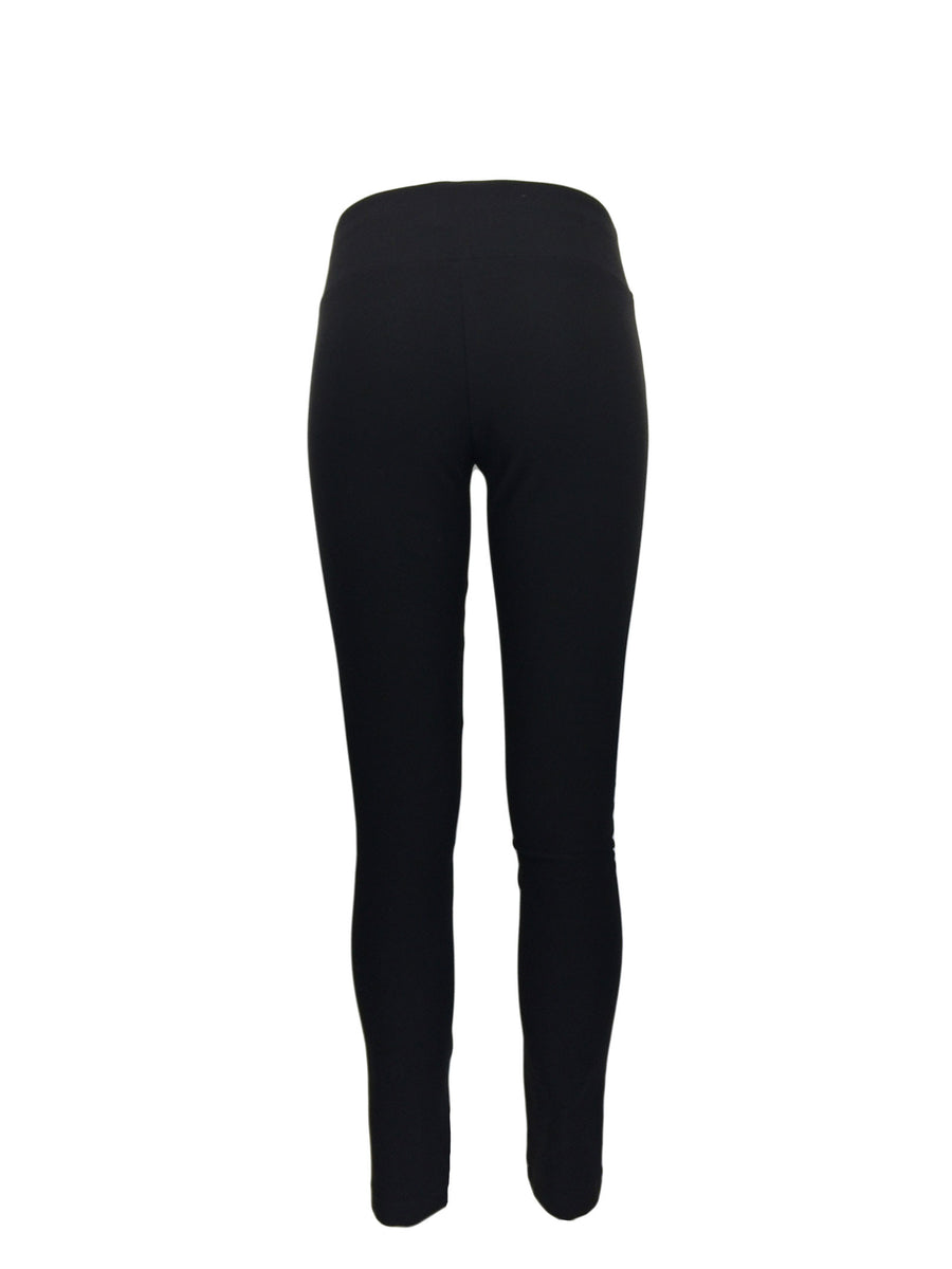 Women's Black Biker Leggings by Atelieri