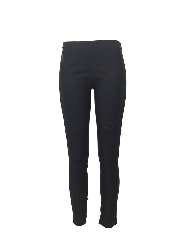 Slim Black Moto style pants by ATELIERI - ATELIERI