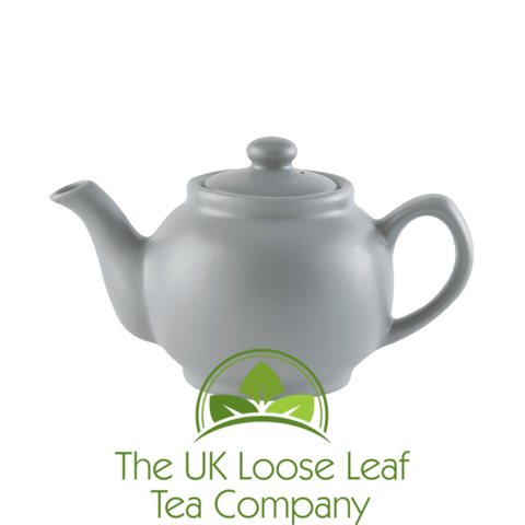 Price & Kensington - Matt Grey 6 Cup Teapot - The UK Loose Leaf Tea Company