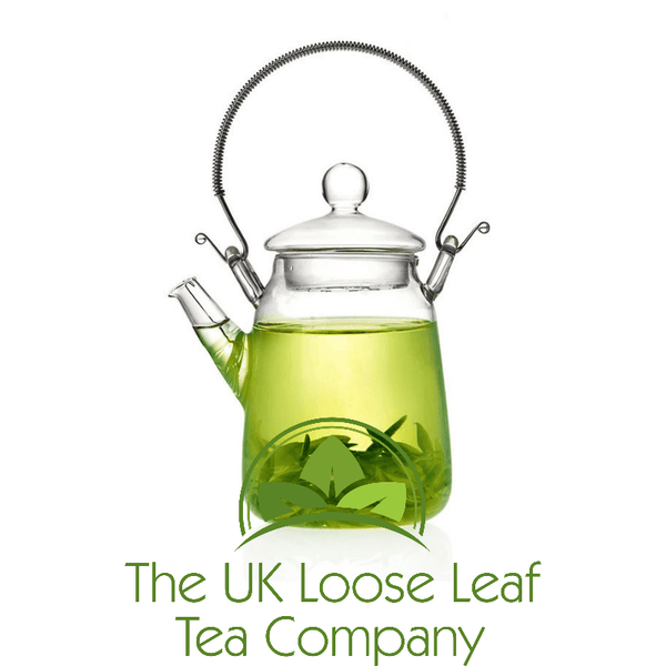 300ml Glass teapot with internal strainer - The UK Loose Leaf Tea Company - 1