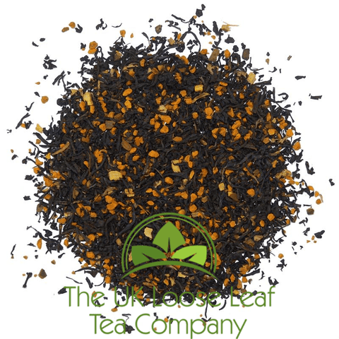 Turmeric Organic Black Tea - The UK Loose Leaf Tea Company Ltd