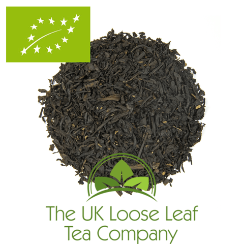 Smoky Earl Grey Organic Tea - The UK Loose Leaf Tea Company