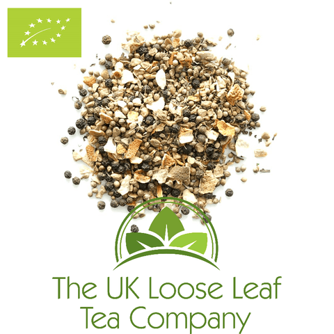Ayurveda Light My Flame Organic Tea - The UK Loose Leaf Tea Company
