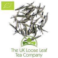 China White Yin Zhen Silver Needle Organic Tea - The UK Loose Leaf Tea Company