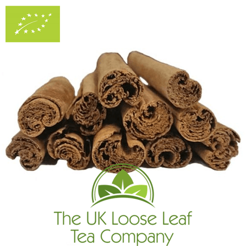 Cinnamon Sticks 3 inch Organic - The UK Loose Leaf Tea Company