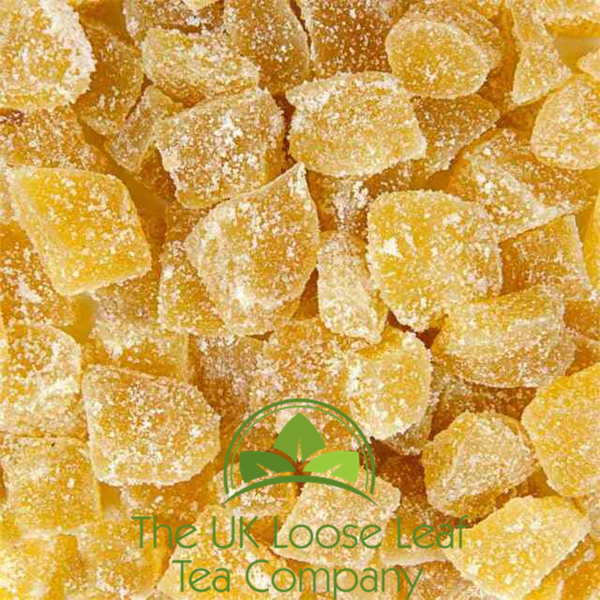 Crystallised Ginger - The UK Loose Leaf Tea Company
