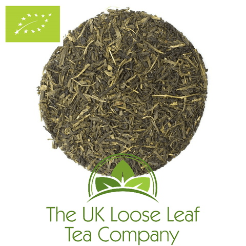 Fancy Sencha Organic Tea - The UK Loose Leaf Tea Company
