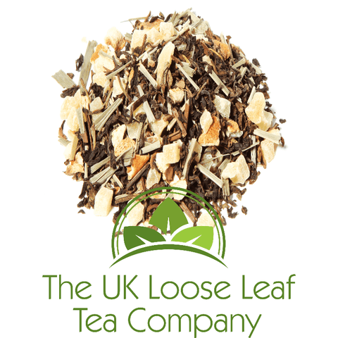 Ginger and Lemon Black Decaffeinated Tea - The UK Loose Leaf Tea Company