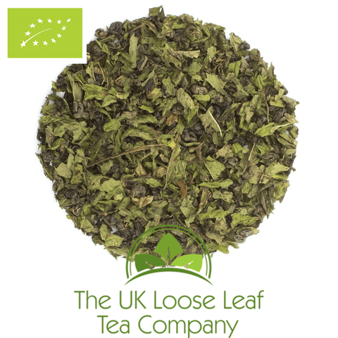 Green Tea with Spearmint Organic - The UK Loose Leaf Tea Company