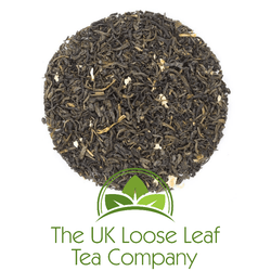 Jasmine with Petals Green Tea - The UK Loose Leaf Tea Company