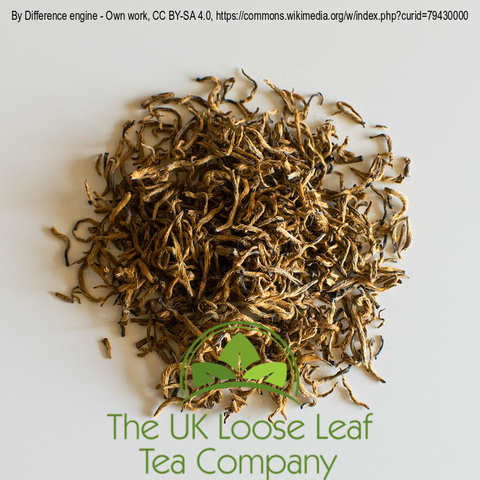 Jin Jun Mei Black Tea - The UK Loose Leaf Tea Company Ltd
