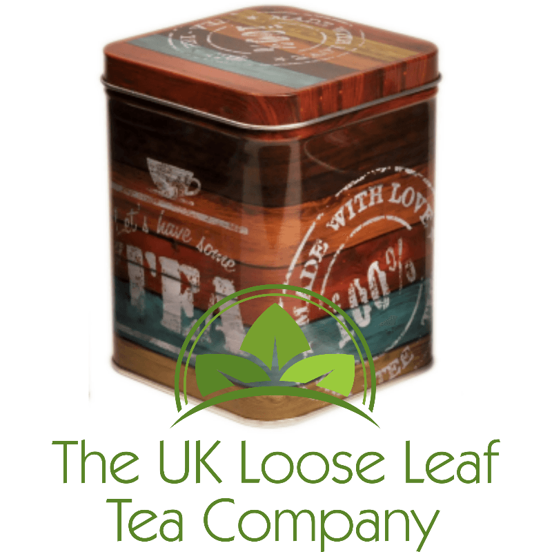 Made With Love Tea Caddy From The Uk Loose Leaf Tea Company