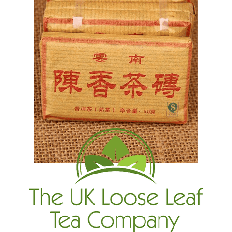 Pu-Erh Tea - Produced in 2010 - The UK Loose Leaf Tea Company - 1