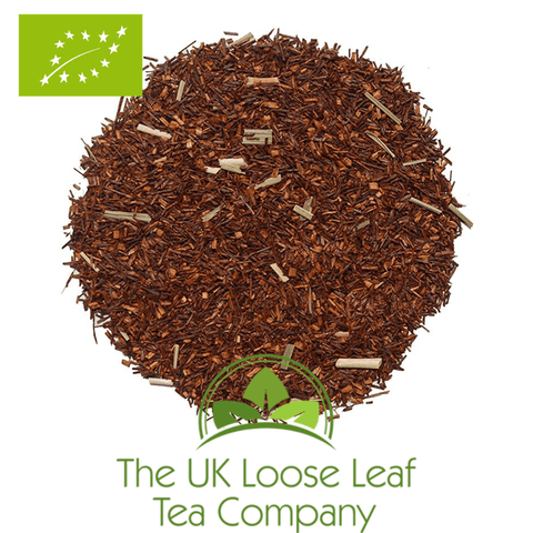 Rooibos Lemon Organic - The UK Loose Leaf Tea Company