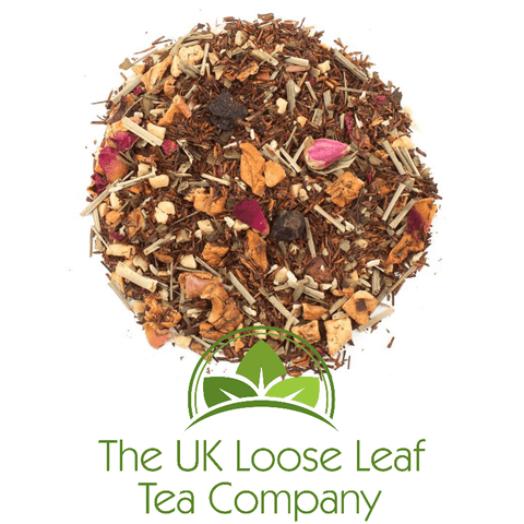 Rooibos Amaretto Prickly Pear - The UK Loose Leaf Tea Company