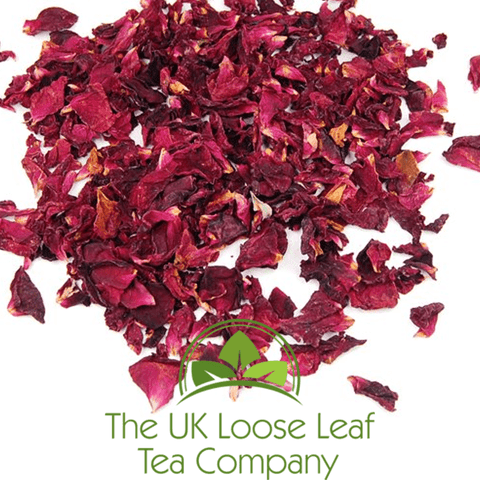 Rose Petals - The UK Loose Leaf Tea Company Ltd