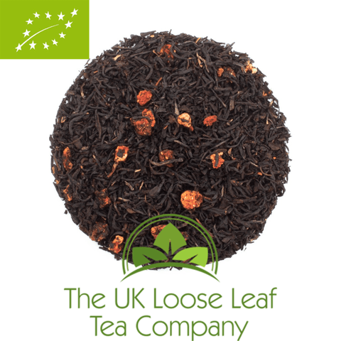 Strawberry Garden Organic Black Tea - The UK Loose Leaf Tea Company