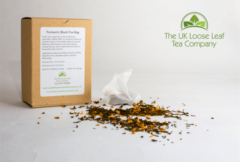Turmeric Black Tea Bags - The UK Loose Leaf Tea Company
