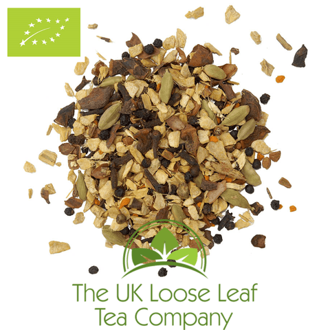 Turmeric Chai Organic - The UK Loose Leaf Tea Company