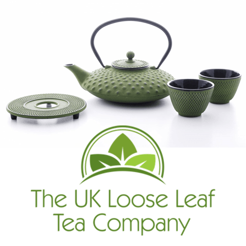Tetsubin Green/Black Tea Set 800ml - The UK Loose Leaf Tea Company