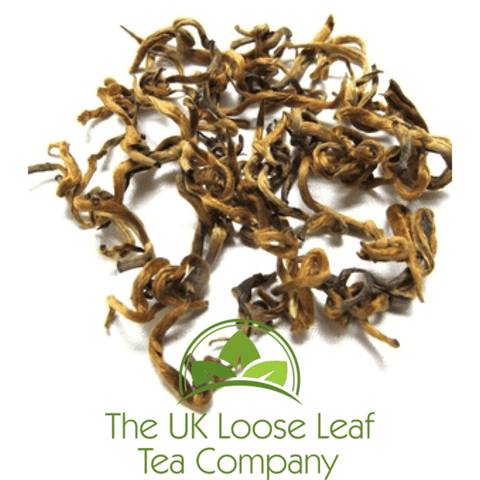 Yunnan Golden Bud Black Tea - The UK Loose Leaf Tea Company Ltd