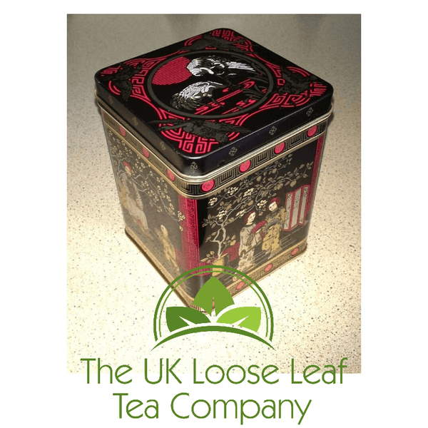Black Japan Tea Caddy - The UK Loose Leaf Tea Company