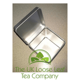 Silver Window Tea Caddy - The UK Loose Leaf Tea Company - 2