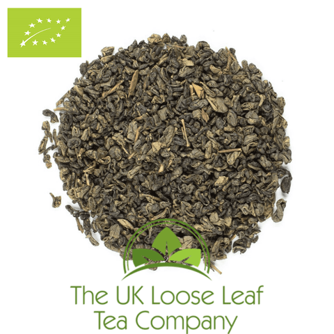 Gunpowder Organic Green Tea - The UK Loose Leaf Tea Company