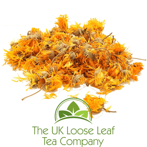 Marigold Flowers ~ (Calendula) - The UK Loose Leaf Tea Company