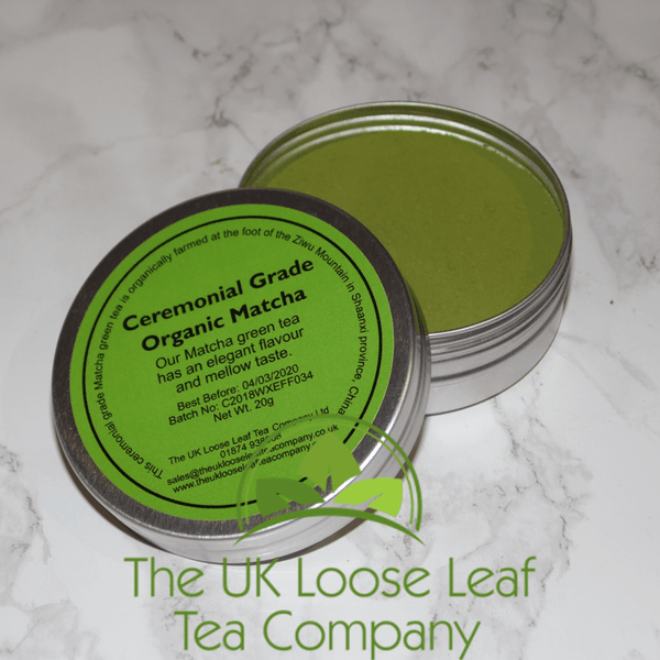 Ceremonial Grade Matcha Green Tea ~ Chinese - The UK Loose Leaf Tea Company