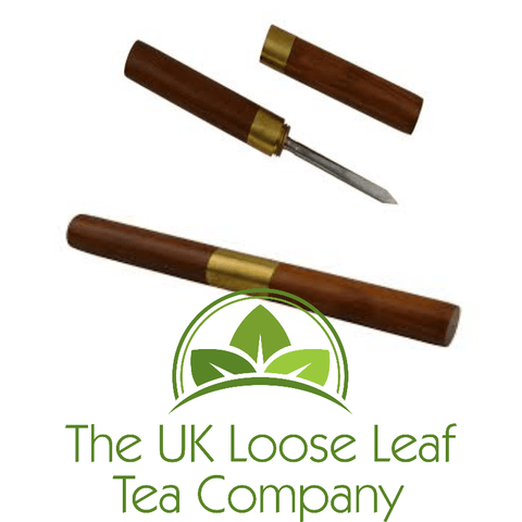Sandalwood Pu Erh Knife - The UK Loose Leaf Tea Company Ltd