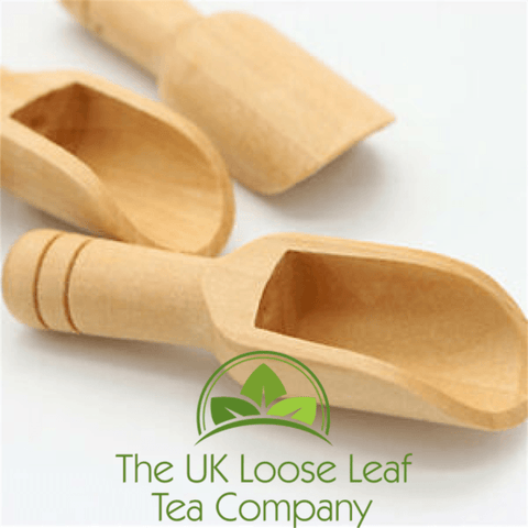 Wooden Tea Scoop - The UK Loose Leaf Tea Company