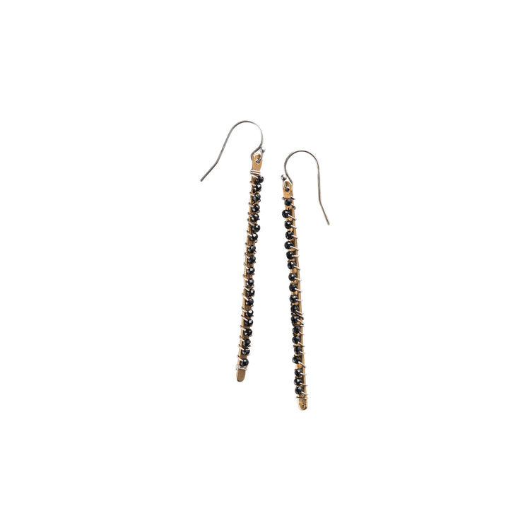 10074 - Linea Gemstone Earrings