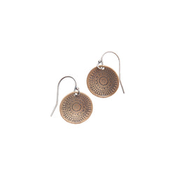 10113 - Small Wanderlust Disc Earring