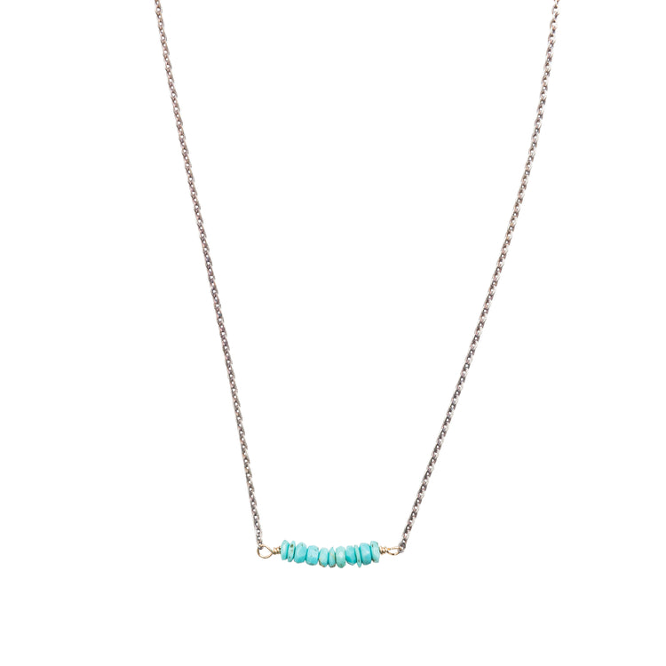 20186 - Turquoise Bar Necklace