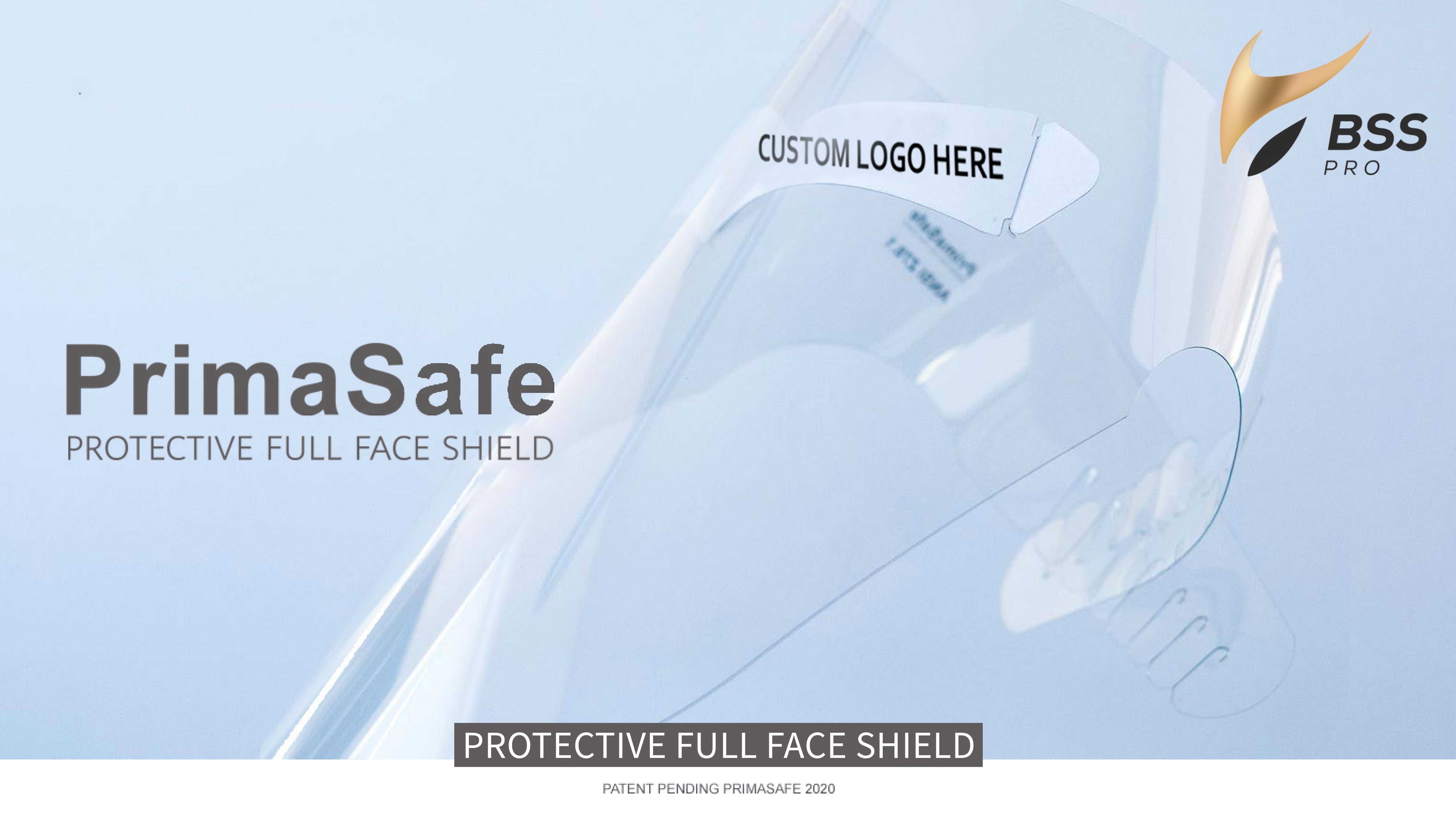 PrimaSafe Protective Full Face Shield