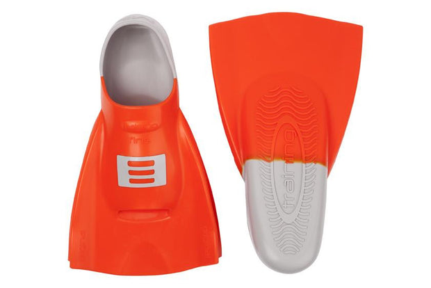 DMC ORIGINAL TRAINING FINS-ORANGE/GREY